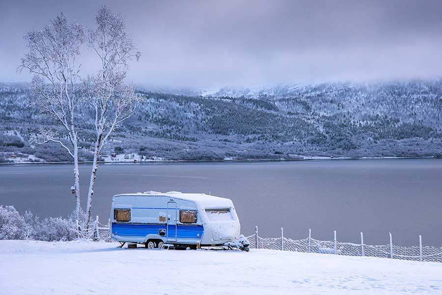 Can You Live in a Campervan in the Winter?