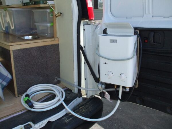 How To Install A Hot Water Heater In A Trailer